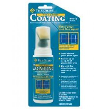 Tile Grout Coating Revives White Grout