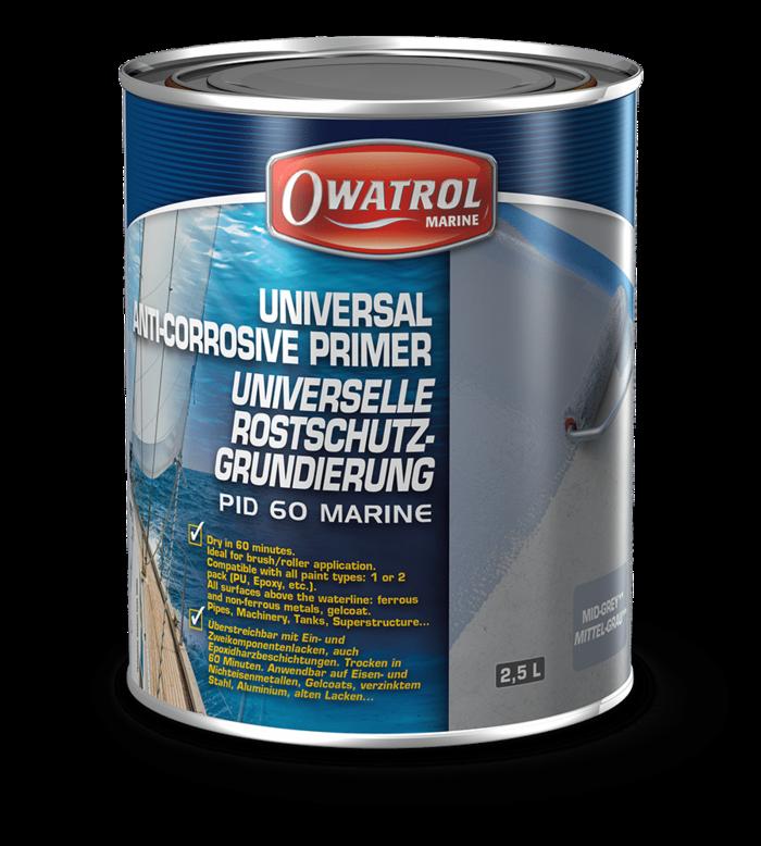 Owatrol PID 60 Marine Primer Grey