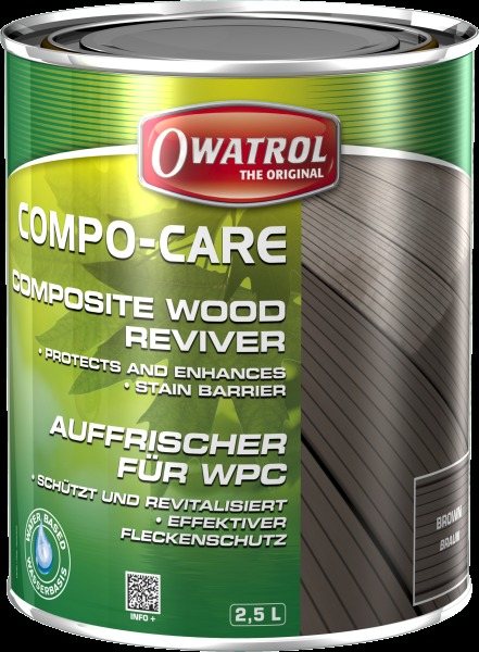 Owatrol Compo-Care Brown & Grey 2.5 L