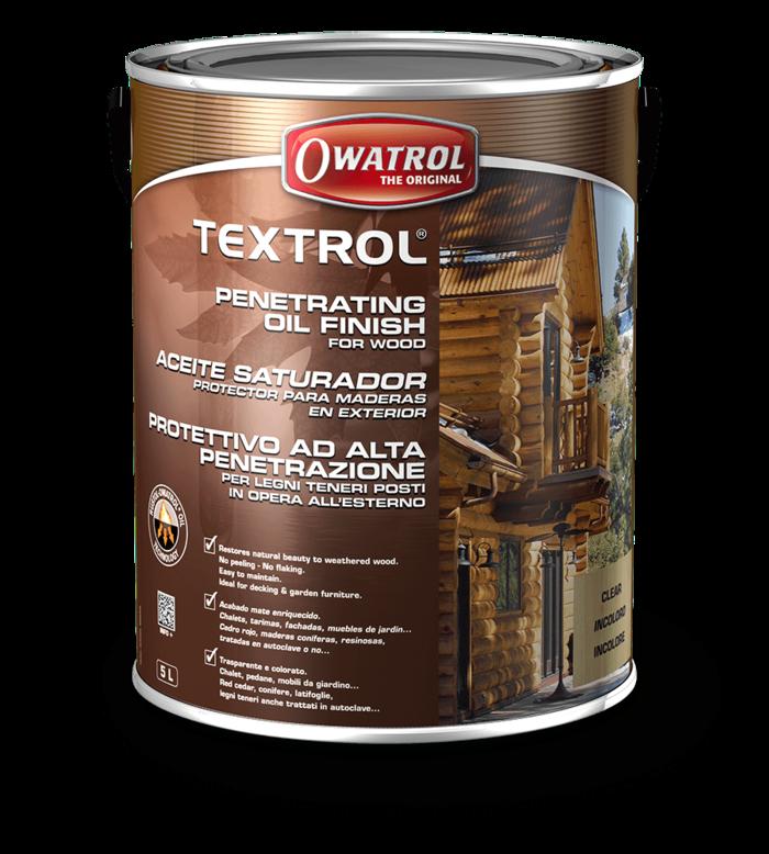 OWATROL TEXTROL CLEAR 5L