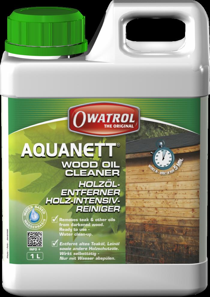Owatrol Aquanett Cleaner For Wood Etc 1L