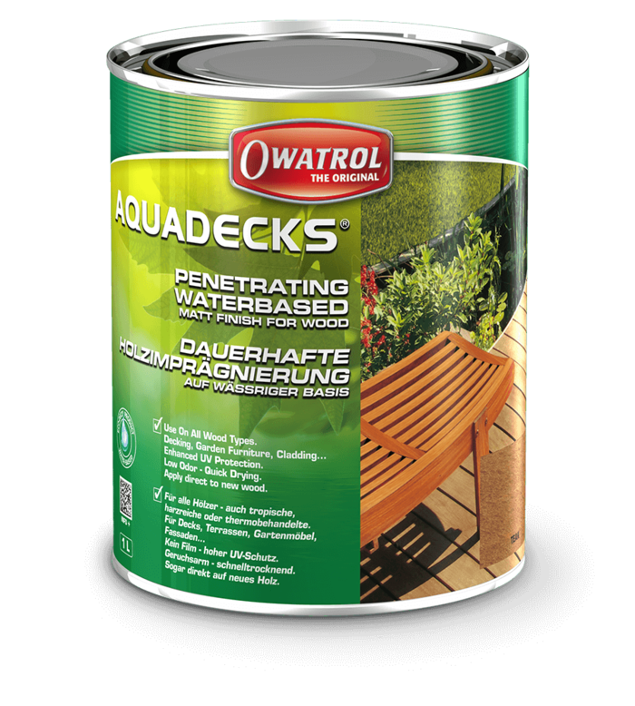 Owatrol Aquadecks Honey 20L