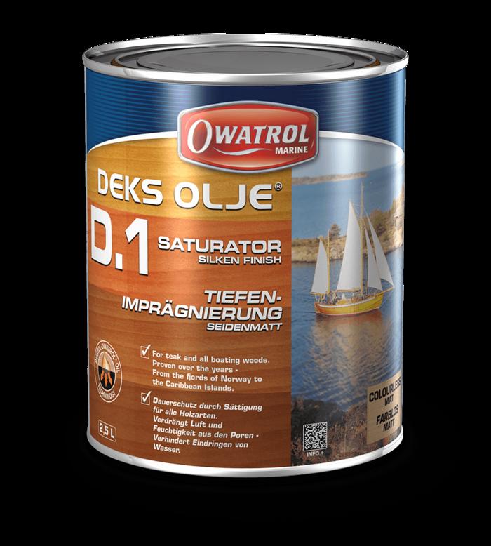 Owatrol Deks Olje D1 - 2.5L