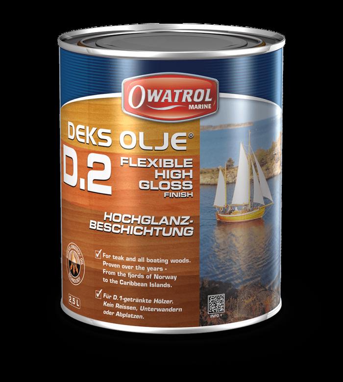 Owatrol Deks Olje D2 - 2.5L