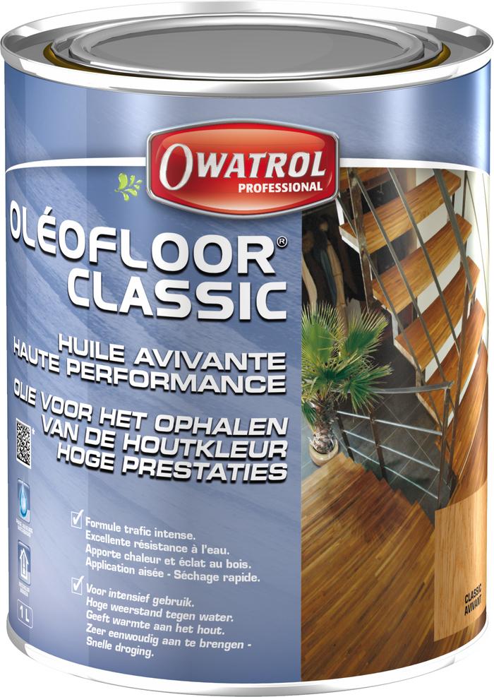 OleoFloor Classic Clear Wet Look - 1L