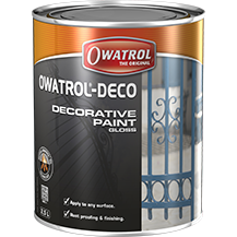 Owatrol Deco Black RAL 9005 - .75L