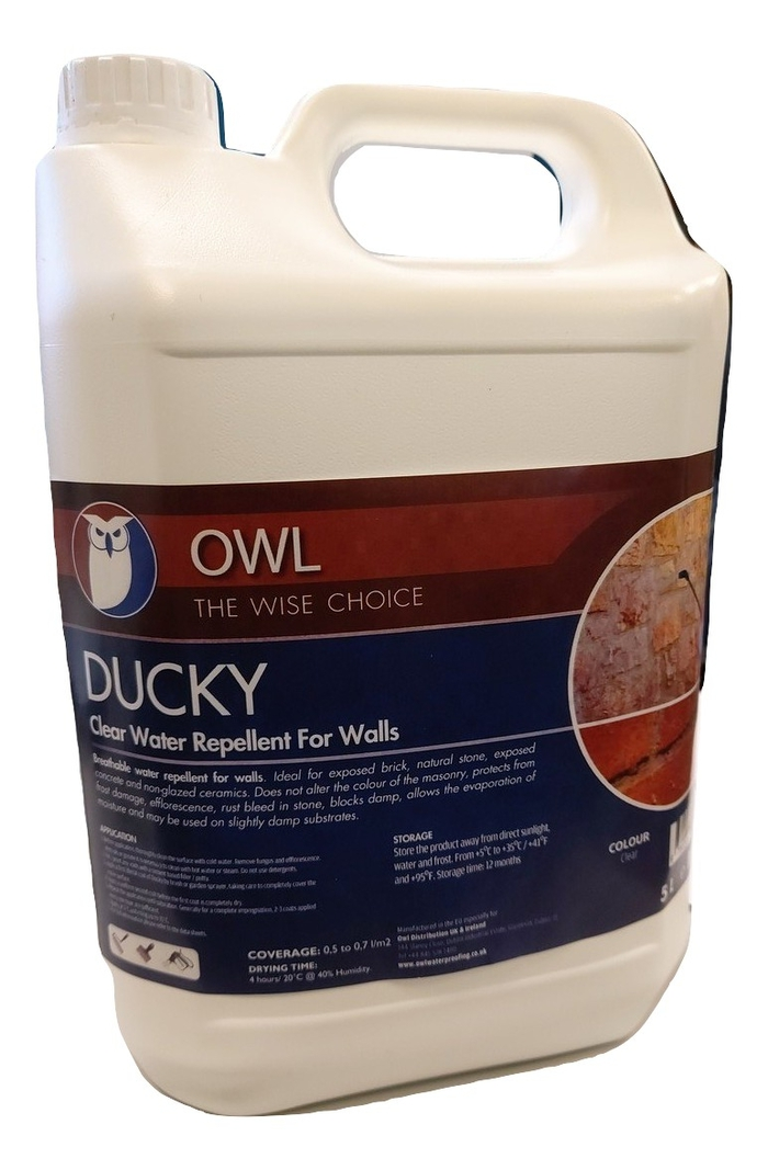 Owl DUCKY Water Repellant For Masonry