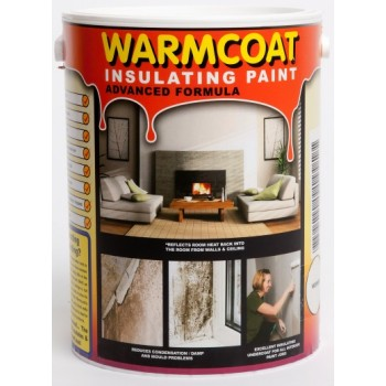 Warmcoat Insulating Paint Cuts Heat Loss & Stops Mould