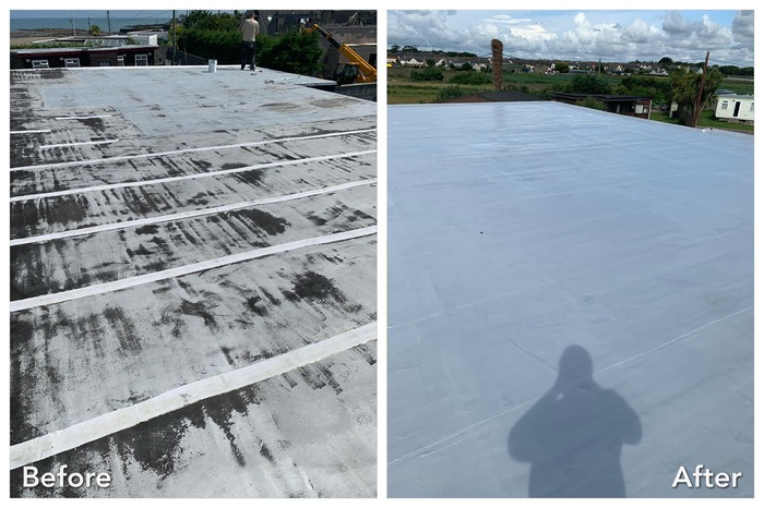 GacoPro Flat Roof Waterproofing Kit (covers 20 m2 - 25 m2 of most existing roof surfaces)